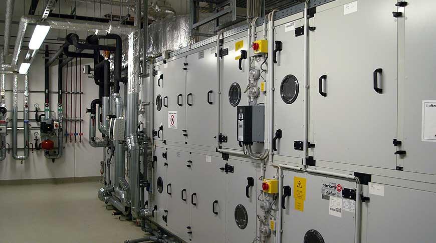 Mepro instalation - ventilation