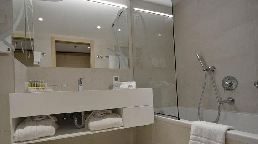 Mepro instalacije -Hotel Kompas - kupaonica
